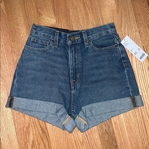 Urban Outfitters High Rise Mom Jean Shorts